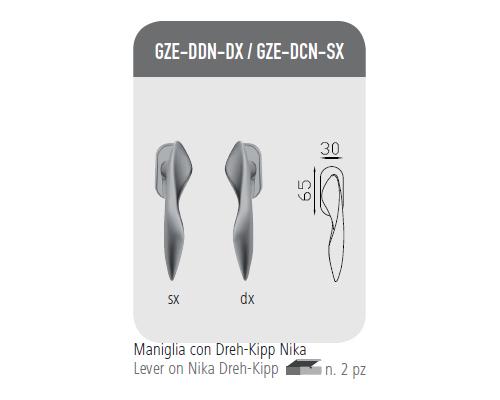 Handle with Dreh-Kipp Nika