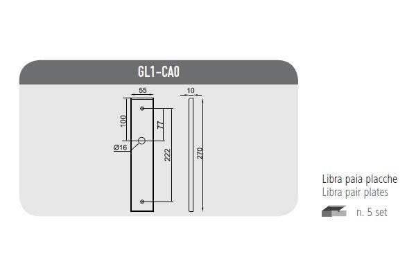 Libra plate pairs