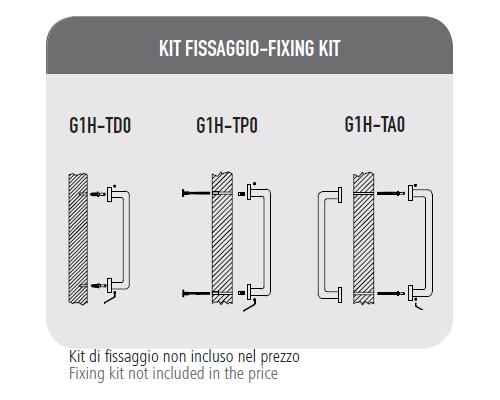 Pull Handle Zante-Fixing Kit