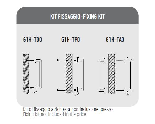 Maniglione Megres Kit Fissaggio